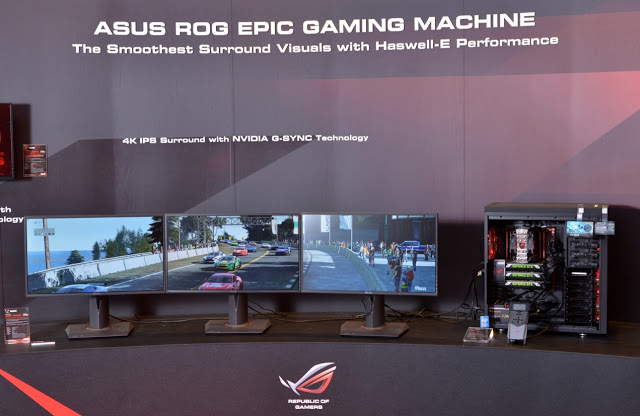 ASUS Showcases Advanced ROG Gaming Products, ROG Certified Gear, Next-Gen Motherboard, USB 3.1 Line-Up and Stunning Mods at Computex 2015 3