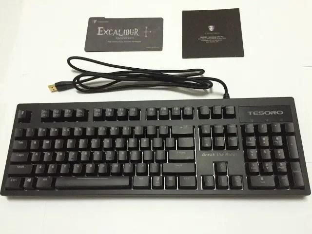 Unboxing & Review: Tesoro Excalibur Spectrum Mechanical Gaming Keyboard 5
