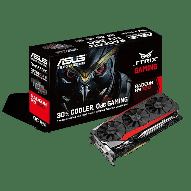 ASUS Announces Strix R9 390X, R9 390, R9 380 and R7 370 4