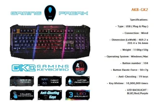Unboxing & Review: AVF Gaming Freak AKB-GK2 Gaming Keyboard 38