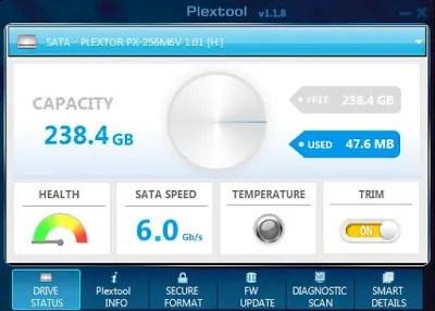 Plextor M6V 256 GB SSD Review 9