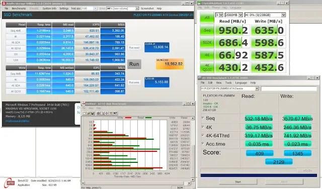 Plextor M6V 256 GB SSD Review 20