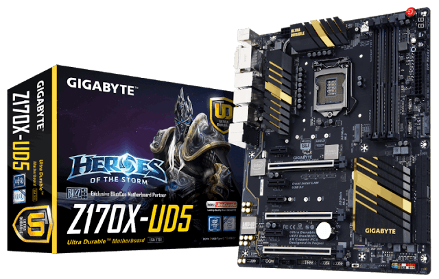 GIGABYTE Announces its Z170 Motherboards Lineup 4