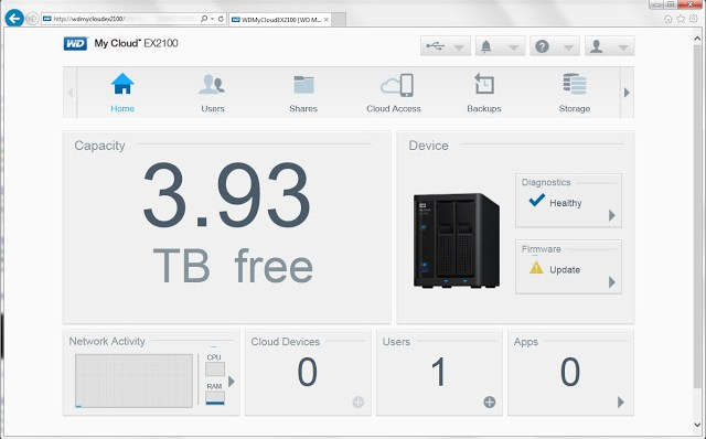 WD My Cloud Expert Series EX2100 8TB NAS Review 17