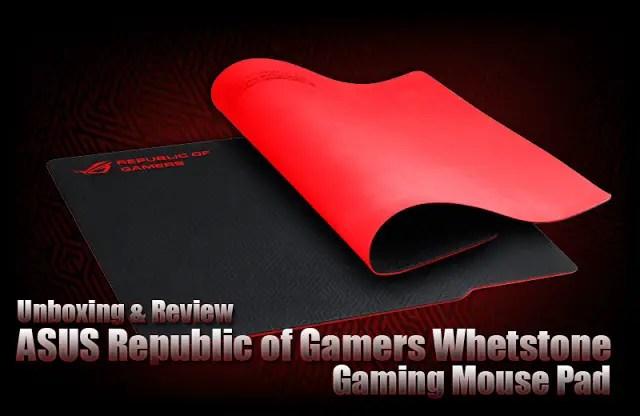 ASUS ROG Whetstone Gaming Mousepad Review 21