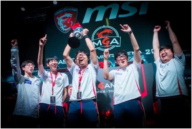 MSI MGA 2015 Global Grand Finals came to the perfect ending 2