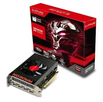 SAPPHIRE SHIPS AMD Radeon™ R9 Nano 8