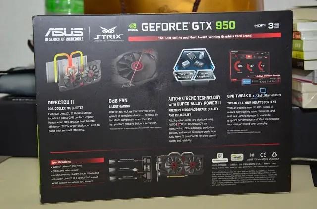 Unboxing & Review: ASUS STRIX GTX 950 67