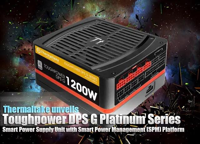 Thermaltake Toughpower DPS G Platinum Series Smart Power Supply Unit with Smart Power Management (SPM) Platform 15