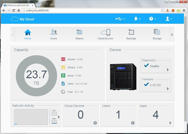 WD My Cloud Business Series DL4100 24TB NAS Review 122