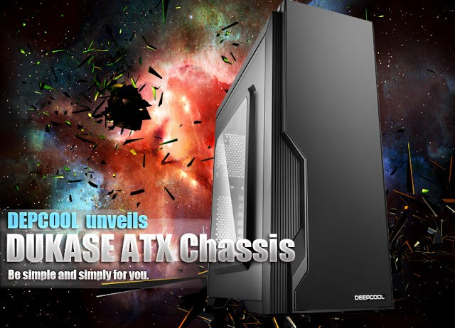 DEEPCOOL unveils the DUKASE ATX chassis 13