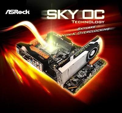 ASRock SKY OC Unlocks Skylake Non-K CPUs Making Them Overclockable 1