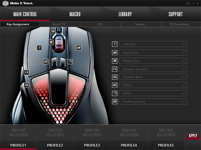 Unboxing & Review: Cooler Master Sentinel III Optical Gaming Mouse 85