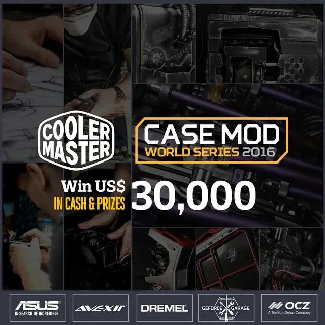 Cooler Master Announces Case Mod World Series 2016 1