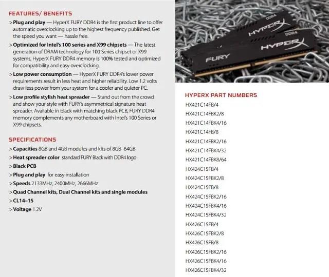 Kingston HyperX Fury DDR4 16GB Memory Kit Review 2