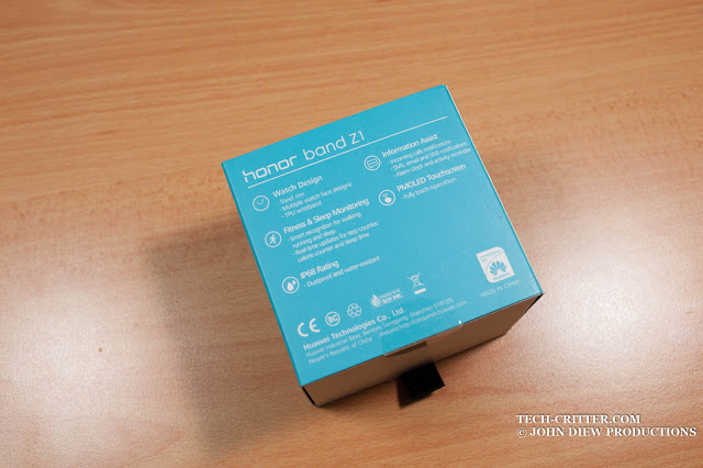 Unboxing & Review: Honor Band Z1 45