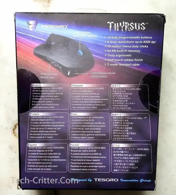 Unboxing & Review: Tesoro Thyrsus Laser Gaming Mouse 46