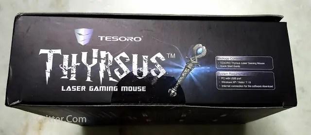 Unboxing & Review: Tesoro Thyrsus Laser Gaming Mouse 47
