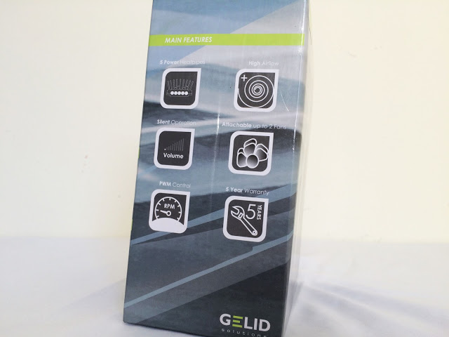 Unboxing & Review: GELID Solutions Antarctica CPU Cooler 57