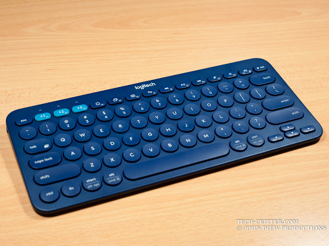 Unboxing & Review: Logitech K380 Bluetooth Multi Device Keyboard 39