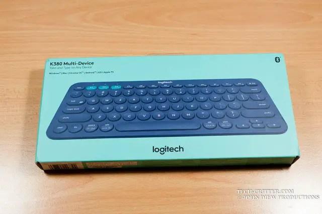Unboxing & Review: Logitech K380 Bluetooth Multi Device Keyboard 40