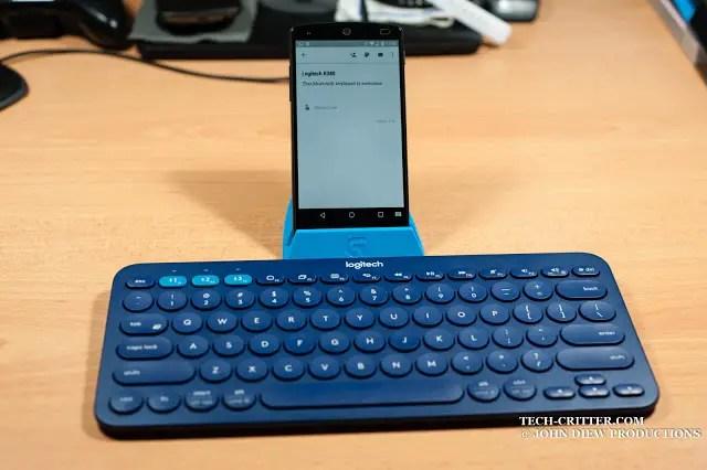 Unboxing & Review: Logitech K380 Bluetooth Multi Device Keyboard 54