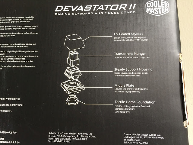 Unboxing & Review: Cooler Master Devastator II Gaming Keyboard and Mouse Combo 3