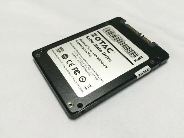 Unboxing & Review: ZOTAC 240GB Premium Edition SSD 44
