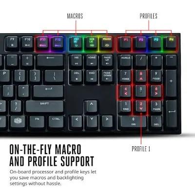 Cooler Master unleashes MasterKeys Pro Series Keyboards 19