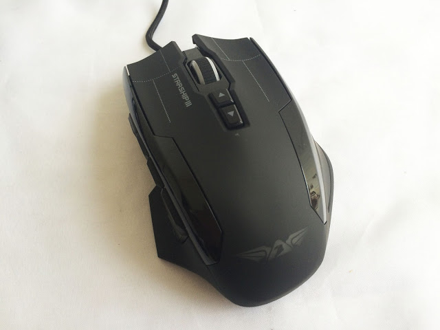 Unboxing & Review: Armaggeddon NRO-5 Starship III Gaming Mouse 8