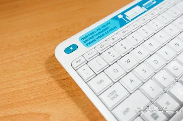 Unboxing & Review: Logitech Wireless Touch Keyboard K400 Plus 59