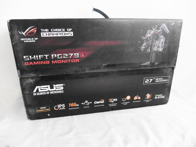 Unboxing & Review: ASUS ROG Swift PG279Q 165Hz G-SYNC Gaming Monitor 51