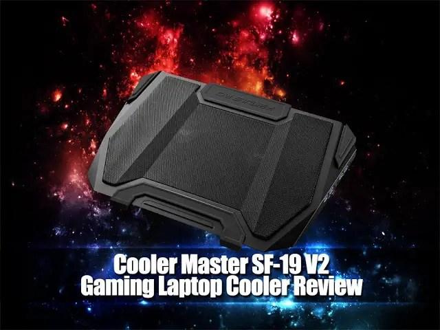 Unboxing & Review: Cooler Master SF-19 V2 USB 3.0 Gaming Laptop Cooler 35