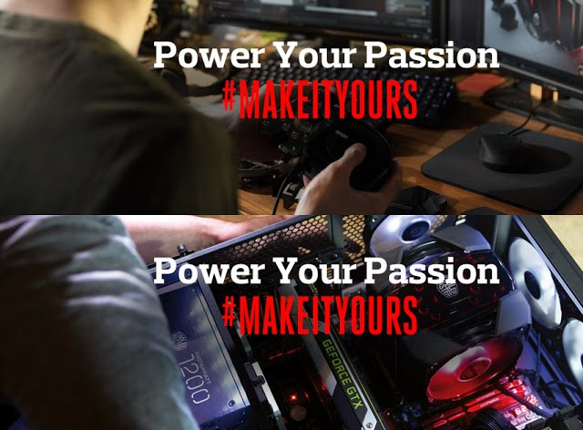 Power Your Passion and #MakeItYours with Cooler Master 7