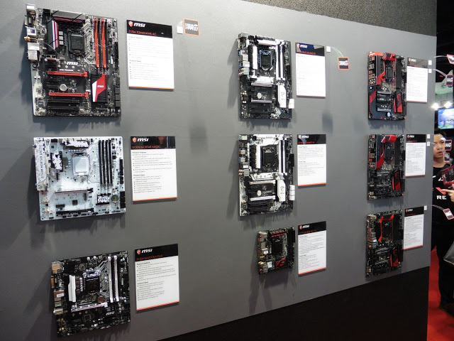 Computex 2016 Coverage: Mysterious Looking Motherboard Spotted At MSI Booth 25