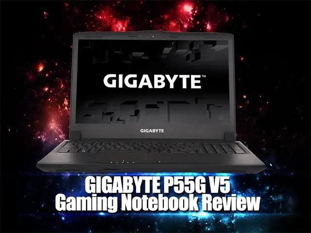 Gigabyte P55G V5 Gaming Notebook Review 51
