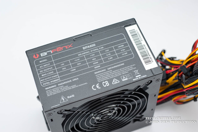 Unboxing & Preview: Bitfenix BPA600 Power Supply 34