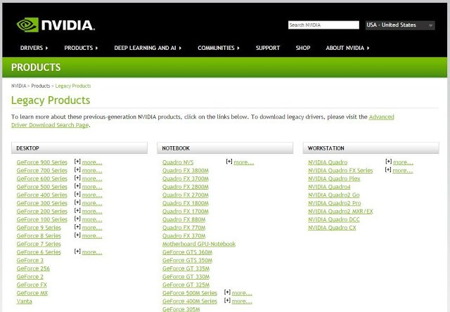 NVIDIA Abandoned Maxwell Architecture GPU? GTX 900 Series Spotted In Category of Legacy Products 3