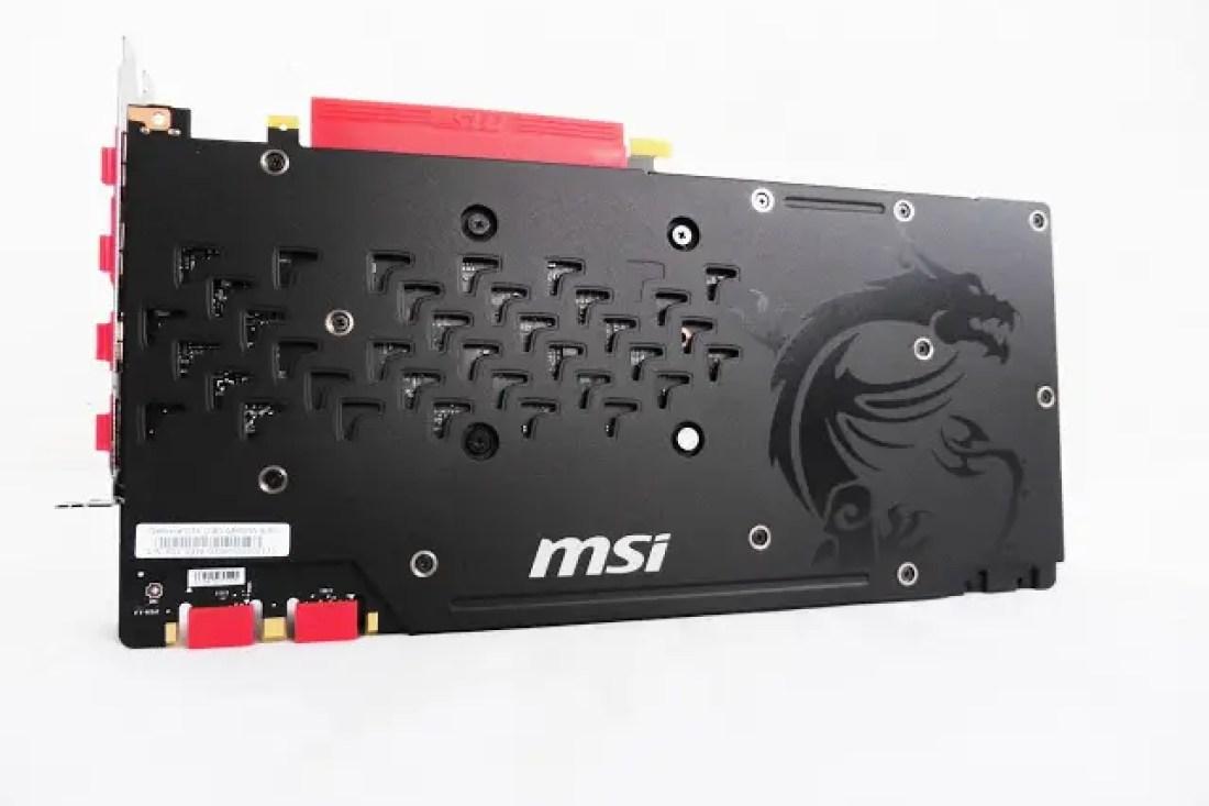 MSI GeForce GTX 1080 Gaming X 8G Review 9