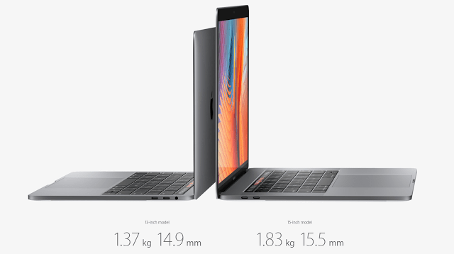 The new MacBook Pro now official 2