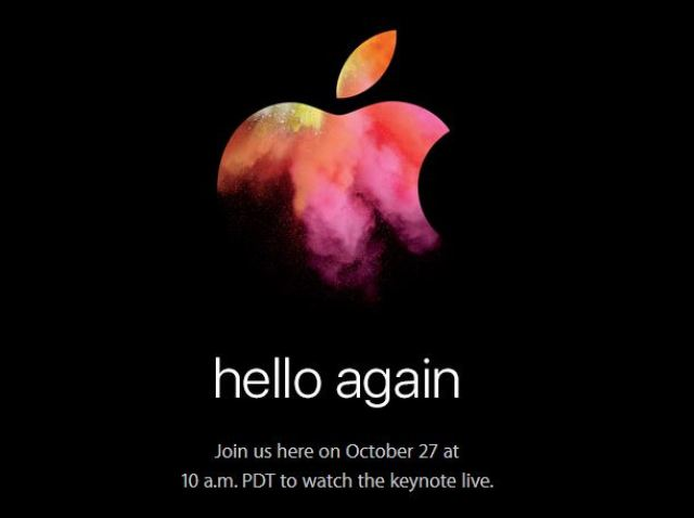 October 27: Apple's Mac Event Confirmed 1