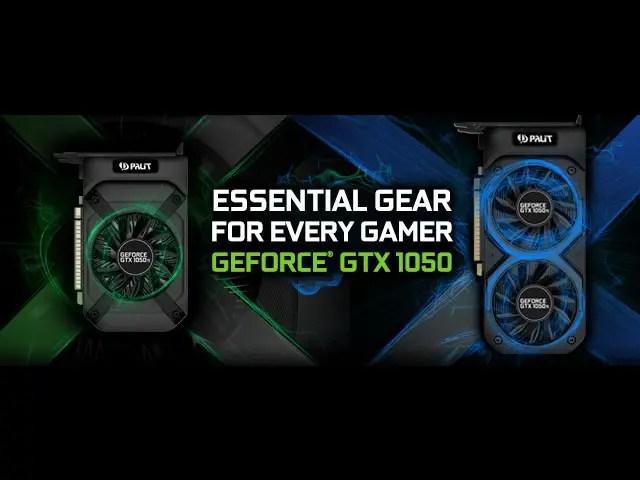 Palit Announces StormX Series GeForce GTX 1050 and GTX 1050 Ti 1