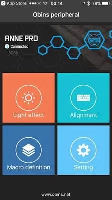 OBINS Anne PRO RGB Wireless Bluetooth Mechanical Keyboard Review 20