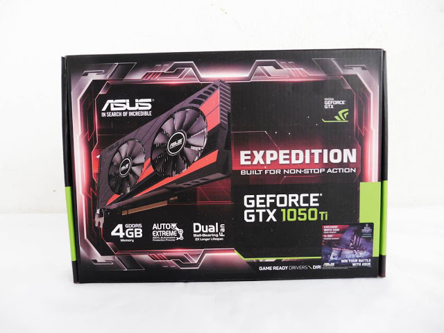 ASUS Expedition GTX 1050 Ti 4G Review 2