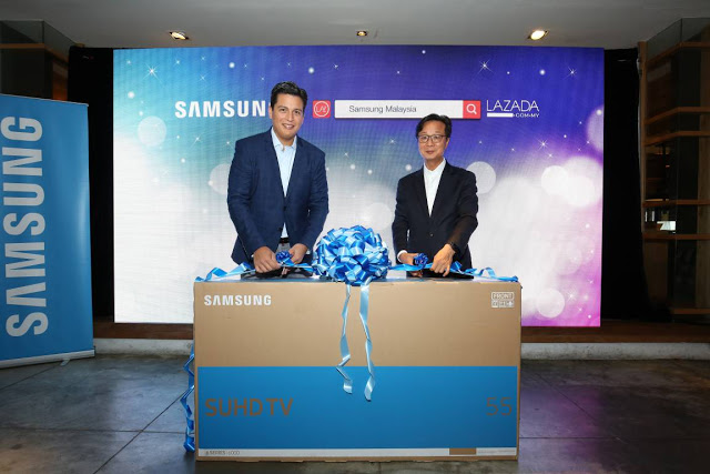 Samsung Malaysia Electronics Partners With Lazada Malaysia To Turn Offline Samsung Stores Online 2
