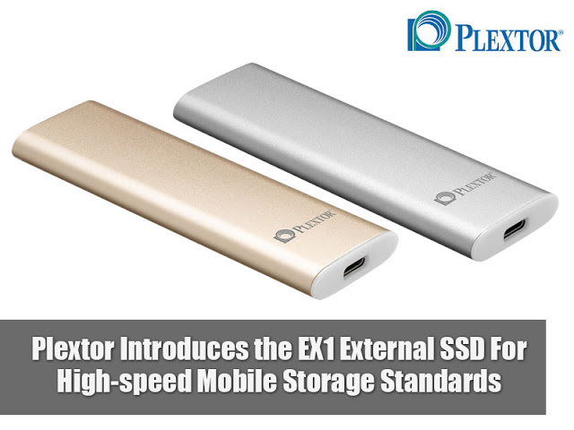 Plextor Introduces the EX1 External SSD For High-speed Mobile Storage Standards 11