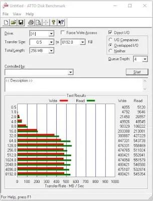 Plextor S1G 256GB M.2 SSD Review 8