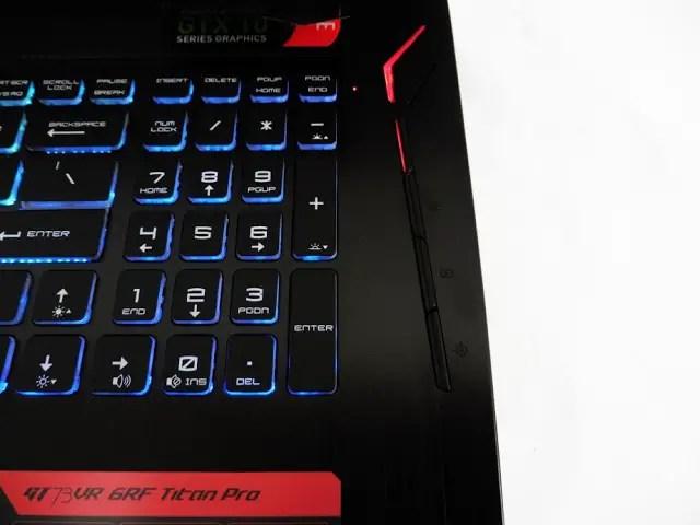MSI Gaming GT73VR 6RF Titan Pro Gaming Notebook Review 50