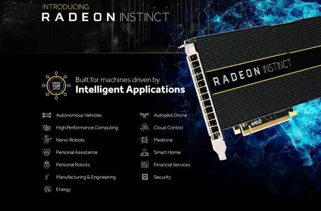 AMD Announces Radeon Instinct GPU Accelerator For AI and Deep Learning 5