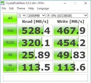 Plextor S1G 256GB M.2 SSD Review 10